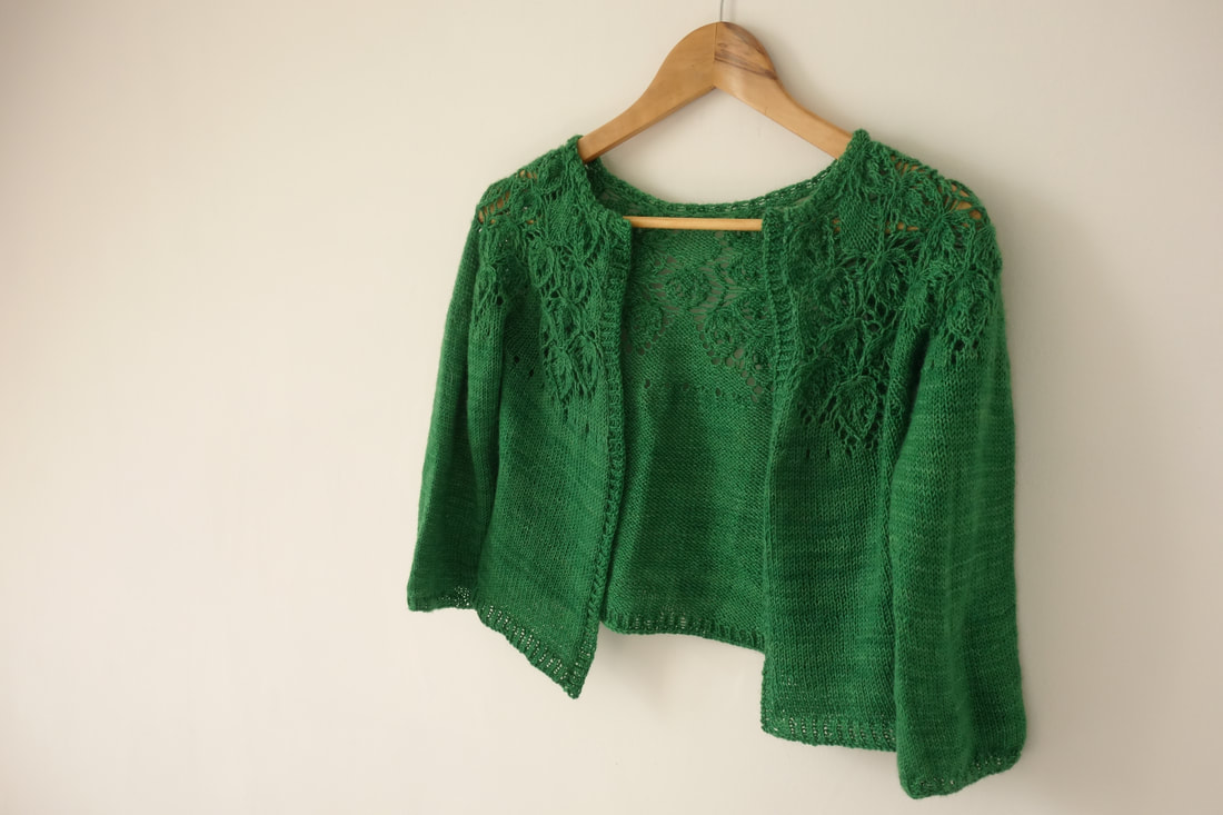 Knitting pattern cardigan for a special occasion